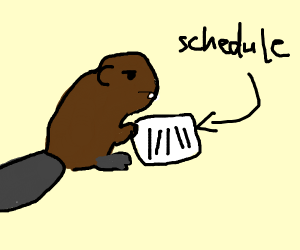 beaver has full schedule