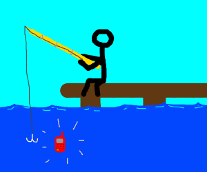 Stickman Fishing For Phone