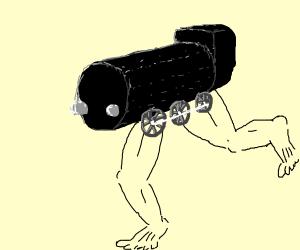 leg-omotive running