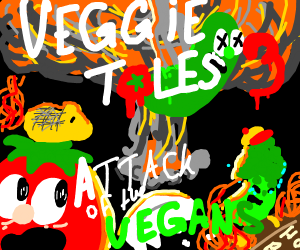 Veggie Tales 3 Attack of the Vegans