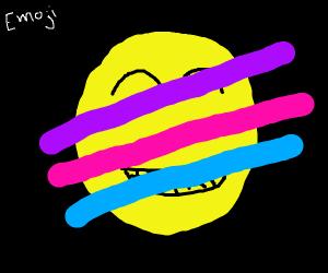 3 stripes cover emoji