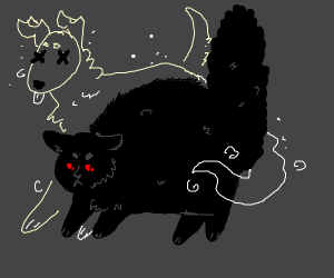 Evil Cat / Dog Spirit