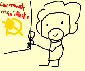 Communist Bob ross