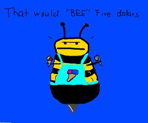 Bee hates his job