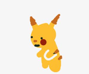 plastic pikachu
