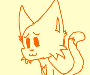 free draw cat