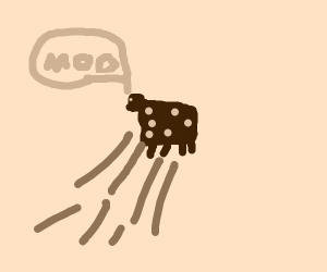 yeeted cow
