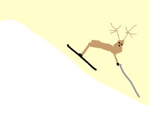 reindeer sking
