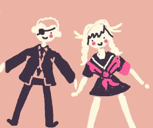 Fuyuhiko And Peko (DR)