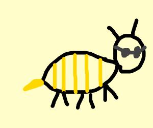 A badass bee