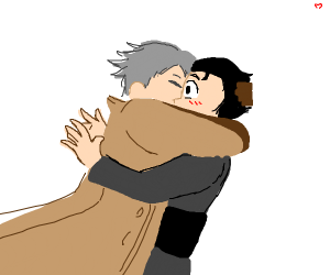 yuri on ice kiss scene