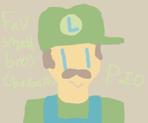 Favorite Smash Bros character PIO (Waluigi)