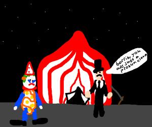 Problem clown?