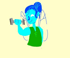blue fairy strong