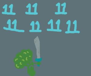 Broccoli verses seven eleven