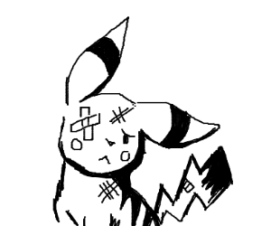 Abused Pikachu
