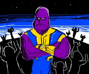 Thanos and the boys