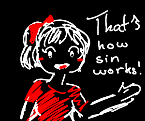 thats how sin works