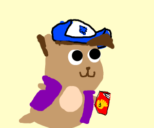 Dipper pines as a hamster