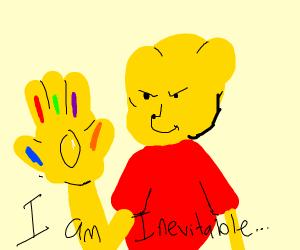 winnie the pooh is inevitable