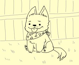 a cute doggo