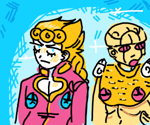 giorno and his stand