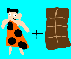 Fred Flintstone chocolate