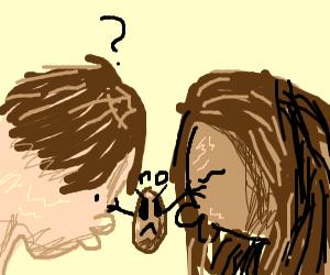 walnut does not like people kissing