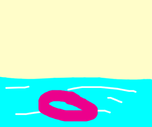 pink floaty