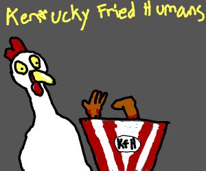 CHICKEN KFC CANNIBALISM