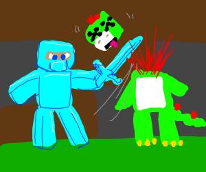 Minecraft Hates Mario Character