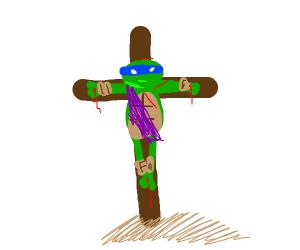 Ninja turtle jesus