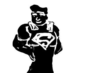Superman's shadow