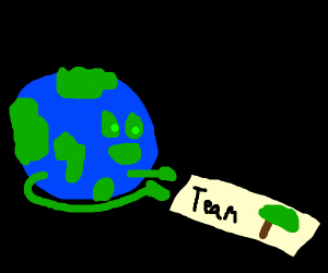 Old Lady earth wants you to donate to teamtre