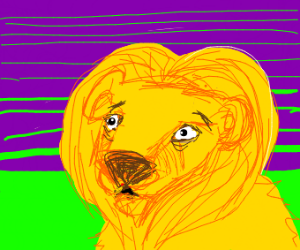 lion has existential crisis