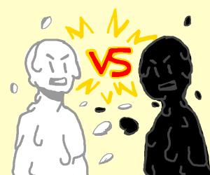 White vs Black