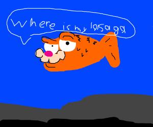 Garfield fish