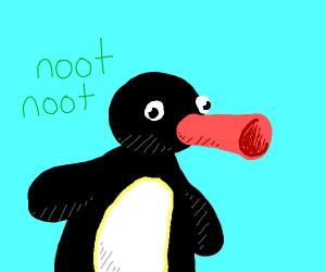 Pingu from Pingu
