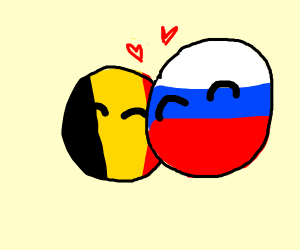 belgium and russia love each other