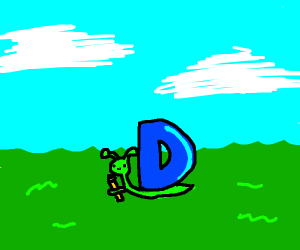 Drawception snail