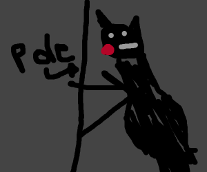 Catwoman pole dancing