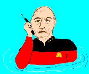 Patrick gets a waterproof phone