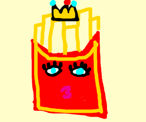 The Queen of the French Fries
