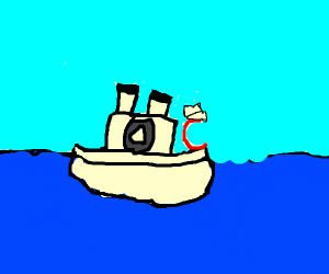 c sailer on a boat