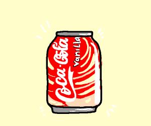 Coka Cola Vanilla can