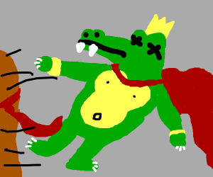 assassination of king k rool 1914 colorized