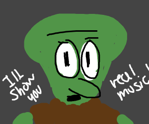 weird Squidward