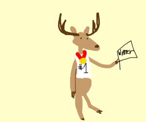 Victorious Deer