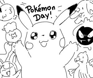 Pokemon day pikachu
