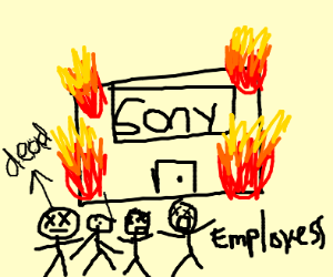 Sony employees die in an explosion